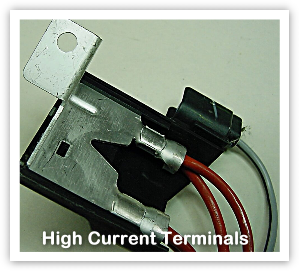 High Current Terminals