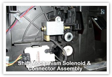 Shift Mechanism Solenoid & Connector Assembly